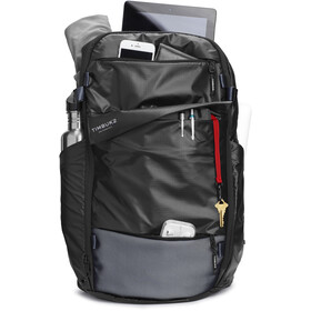 Timbuk2 Parker Pack Light Selkäreppu L, jet black light rip